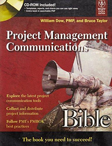 9788126517442: Project Management Communications Bible