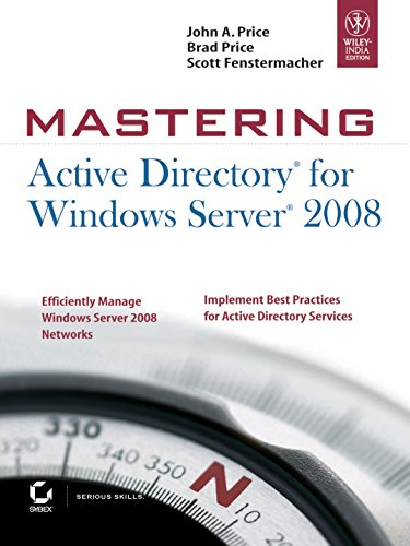 9788126517640: Mastering Active Directory for Windows Server 2008