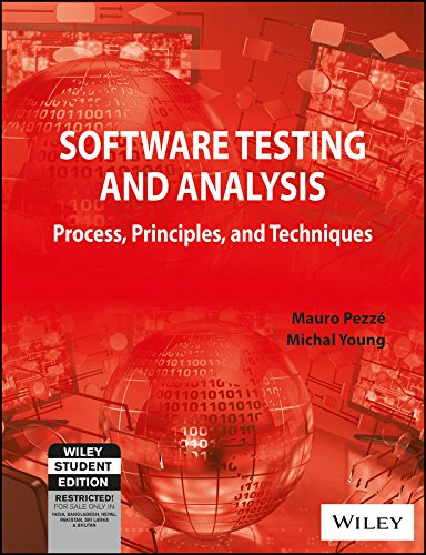 9788126517732: Software Testing and Analysis : Process, Principles and Techniques