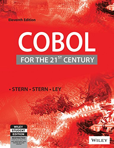9788126517923: COBOL for the 21st Century,11ed