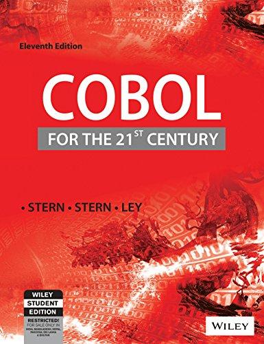 9788126517923: Cobol For The 21St Century, 11Th Ed