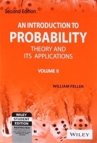 An Introduction To Probability Theory And Its: Feller