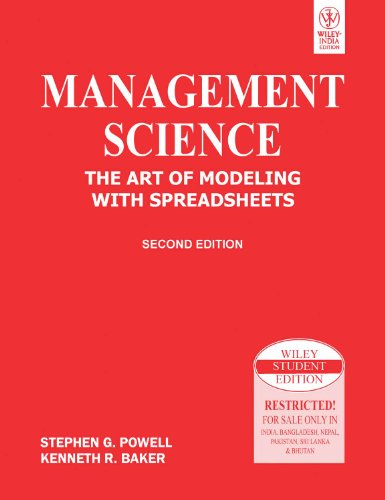 9788126518241: Management Science: The Art of Modeling with Spreadsheets, 2ed, w/CD