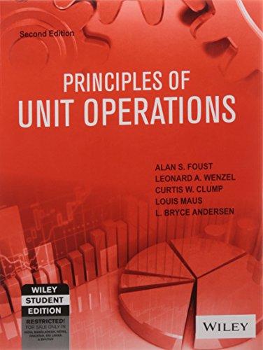 Principles Of Unit Operations, 2/E