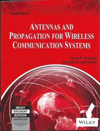 9788126518333: Antennas And Propagation For Wireless Communication Systems, 2Nd Ed