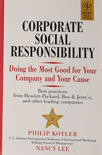 9788126518432: Corporate Social Responsibility: Doing the Most Good for Your Company and Your Cause