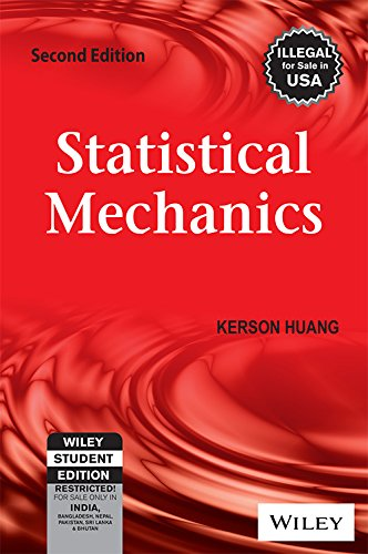 9788126518494: Statistical Mechanics