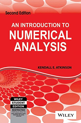 9788126518500: An Introduction to Numerical Analysis, 2ed