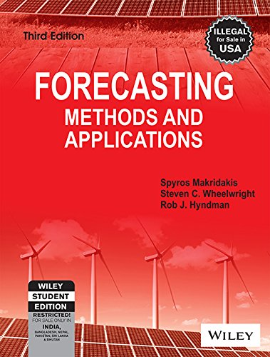 9788126518524: Forecasting Methods and Applications