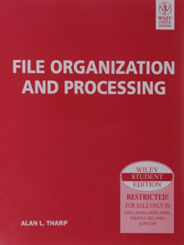 9788126518685: File Organization and Processing