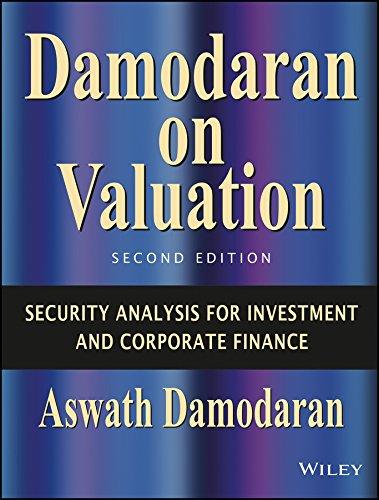 9788126518852: Damodaran On Valuation, 2Nd Ed