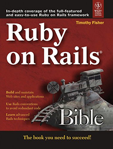 9788126518906: Ruby On Rails Bible