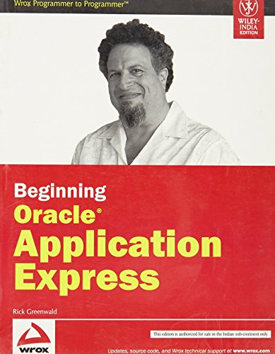 9788126519521: Beginning Oracle Application Express