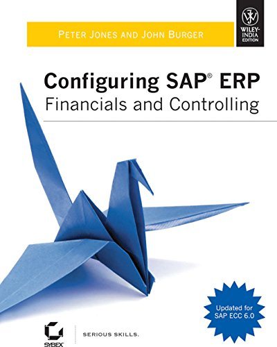 9788126520992: Configuring SAP ERP Financials and Controlling