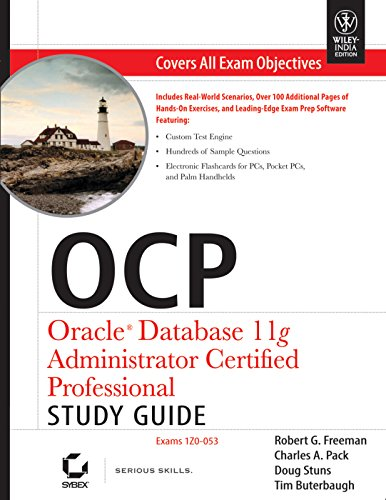 9788126521234: OCP: Oracle Database 11g Administrator Certified Professional Study Guide