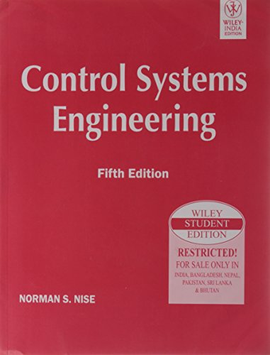 9788126521531: Control Systems Engineering, 5Th Ed, Isv