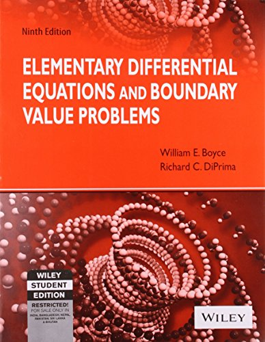 Elementary Differential Equations and Boundary Value Problems (Ninth Edition)