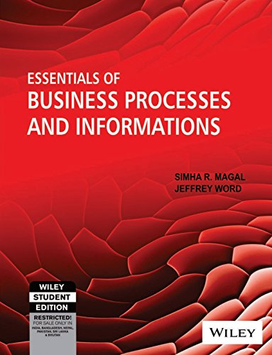 9788126521753: Essentials of Business Processes and Information Systems