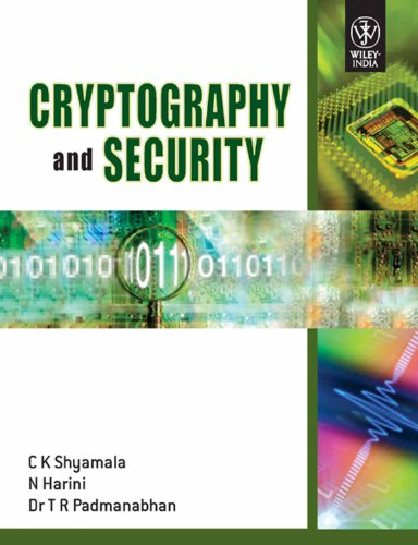 Cryptography And Security With CD: C K Shyamala,