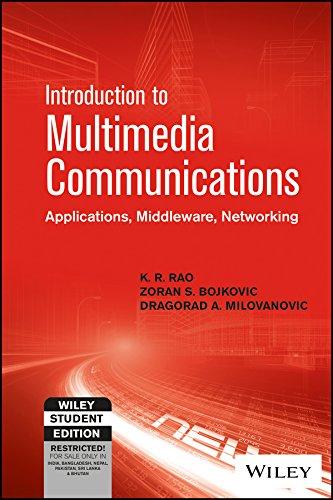 Introduction to Multimedia Communications: K.R. Rao, Zoran