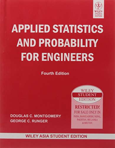Applied Statistics and Probability for Engineers, 5ed: Montgomery