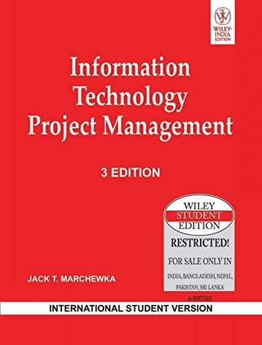 9788126523184: Information Technology Project Management - International Student Version (Third Edition)