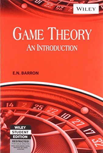 9788126523191: Game Theory: An Introduction