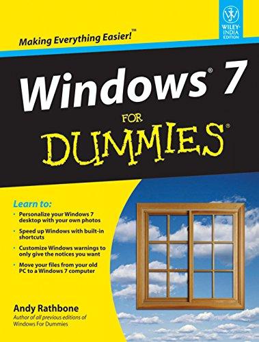 9788126523252: Windows 7 for Dummies