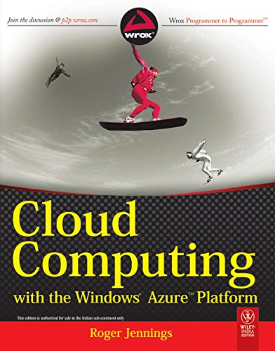 9788126524075: Cloud Computing With The Windows Azure Platform
