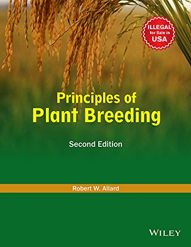 Plant Breeding Principles And Methods