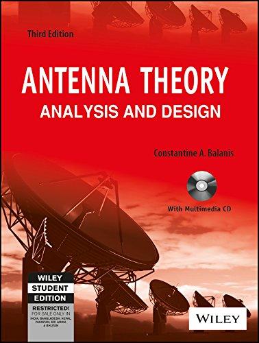 9788126524228: Antenna Theory: Analysis And Design, 3Rd Ed