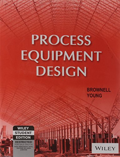 Process Equipment Design: Brownell,Young