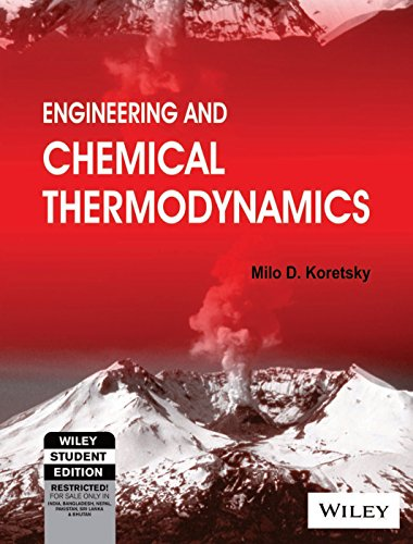 9788126524495: Engineering and Chemical Thermodynamics