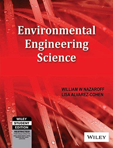 9788126524501: Environmental Engineering Science