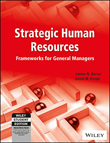 9788126524914: Strategic Human Resources: Frameworks for General Managers