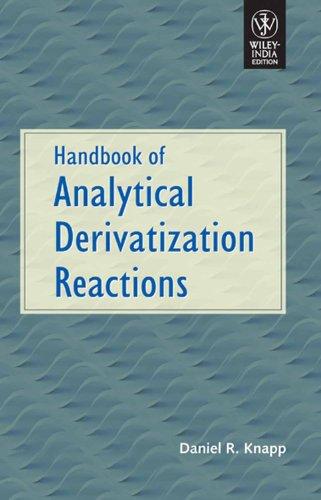 9788126524952: Handbook of Analytical Derivatization Reactions