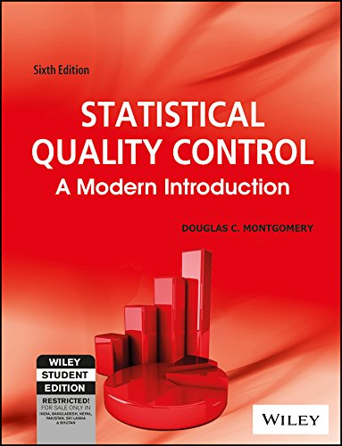 9788126525065: Statistical Quality Control: A Modern Introduction, 6Th Ed