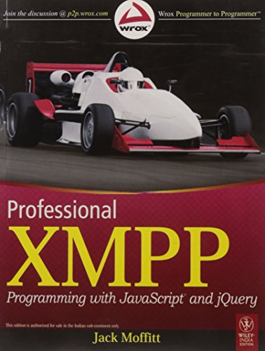 9788126525492: Professional XMPP Programming with JavaScript and jQuery