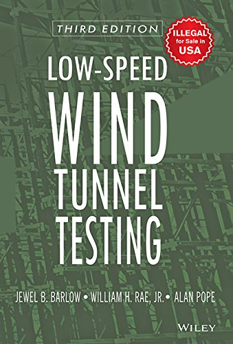 LOW-SPEED WIND TUNNEL TESTING, 3RD EDITION [Paperback]