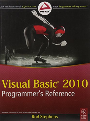 9788126525904: Visual Basic 2010 Programmer's Reference