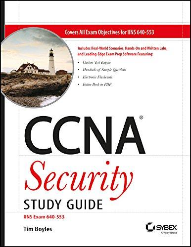 9788126526154: CCNA Security Study Guide: IINS Exam 640-553