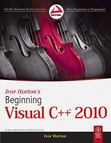 9788126526284: Ivor Horton's Beginning Visual C++ 2010