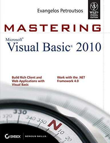 9788126526550: Mastering Microsoft Visual Basic 2010 [MASTERING MS VISUAL BASIC 2010] [Paperback]