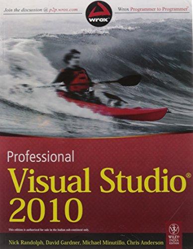 9788126526703: Professional Visual Studio 2010 [PROFESSIONAL VISUAL STUDIO 201] [Paperback]