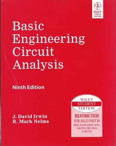 9788126526857: Basic Engineering Circuit Analysis, 9th Edition