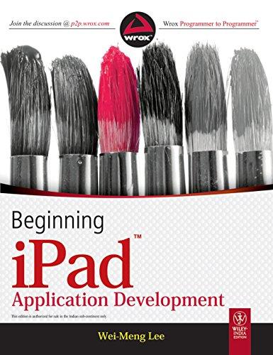 Beginning iPAD Application Development: Wei Meng Lee