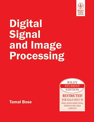 9788126527779: Digital Signal and Image Processing
