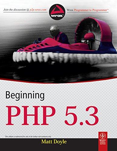 9788126527977: BEGINNING PHP 5.3