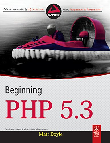 BEGINNING PHP 5.3: MATT DOYLE
