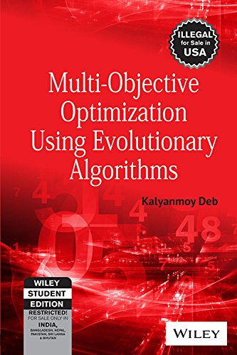 9788126528042: MULTI-OBJECTIVE OPTIMIZATION USING EVOLUTIONARY ALGORITHMS
